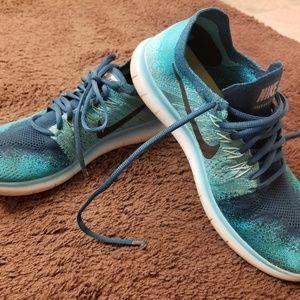 Nike Free Rn Flyknit Running Men's Shoes sz 8.5